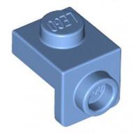 36841-42 Verbindingsplaat 1x1 - 1x1 blauw, midden NIEUW *1L0000