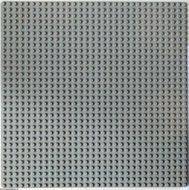 3811-9G Basisplaat 32x32 lichtgrijs (klassiek) gebruikt *3K000