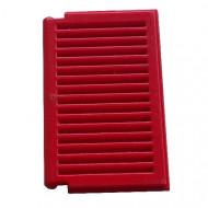 3856-5G Luik groot 1x2x3 voor ramen 3853- Voor elk raam 2x nodig rood gebruikt *1L0000