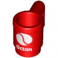 3899pb04-5 Kopje met OCTAN logo rood NIEUW *0L0000