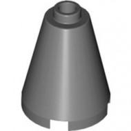 3942c-85 Kegel 2x2x2 volledig open nop grijs, donker (blauwachtig) NIEUW *1B046