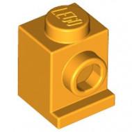 4070-110 Steen 1x1 met koplamp oranje, lichthelder NIEUW *1L031
