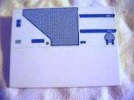 4515pb028L-1G Dakpan 10 graden 6x8 Star Wars motief (sticker) Wit gebruikt loc