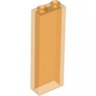 46212-98 Steen 1x2x5 transparant oranje NIEUW *5K0000