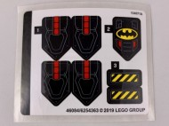 76116stk01 STICKER Batman Batsub and the Underwater Crash NIEUW *0S0000