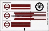 8085stk01 STICKER 8075 STAR WARS Freeco Speeder NIEUW loc