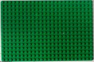 3334-6G Basisplaat 16x24 (geen nopgaten onder0 Groen gebruikt loc
