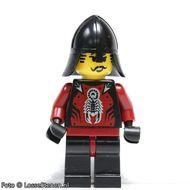 cas291 Shadow Knight Vladek, Black Neck-Protect (5998) (CAS002) NIEUW loc