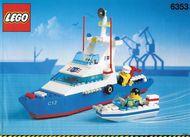 Set 6353 BOUWBESCHRIJVING- Coastal Guard- Coastal Cuttter Ruimtevaart gebruikt loc LOC M2