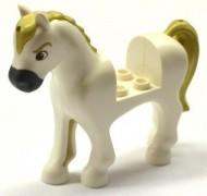 93083c01pb12-1 Friends paard Donkerblauwgrijze neus, bruine ogen Zwart NIEUW loc
