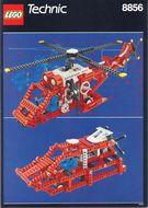 Set 8856 BOUWBESCHRIJVING- Whirlwind Rescue gebruikt loc LOC M7