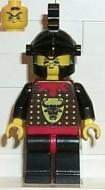 cas045G Knights Kingdom - Robber 2, open helm gebruikt loc
