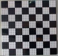 Chessboard Schaakbord 32x32 nop wit NIEUW *3K000