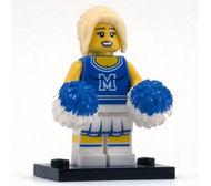 col01-2 Cheerleader met pompoenen en standaard NIEUW loc