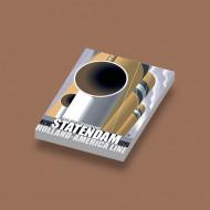 CUS1080 HAL Statendam (pijpen) wit NIEUW Schepen