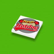CUS1088 Hotdog (Berthil van Beek) wit NIEUW *0A000