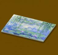 CUS4003 12 tegels 2x2 Waterlelies- Monet wit NIEUW *0A000