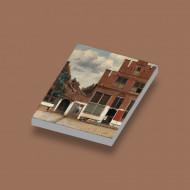 CUS4018 Tegel 2x3 Het Straatje- Vermeer wit NIEUW *0A000