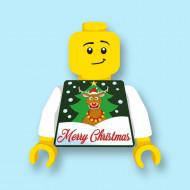 CUS9066 Torso (zonder hoofdje) Foute kersttrui Merry Christmas 2 *0A000
