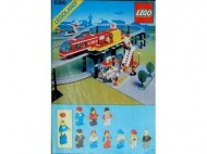 INS6399-G 6399 BOUWBESCHRIJVING- Airport Shuttle Kreukels en uitklappag. Geplakt gebruikt *LOC M2