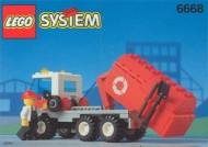 INS6668-G 6668 BOUWBESCHRIJVING- Recycle Truck gebruikt *LOC M3