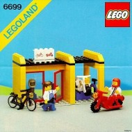 INS6699-G 6699 BOUWBESCHRIJVING- Cycle Ficx-it shop gebruikt *LOC M3