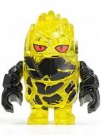 pm023G Power Miners-Rock Monster- Corbustix (trans-geel) gebruikt *0M0000