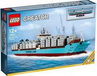 Set 10241 - Sculptures: Maersk Line Triple-E- Nieuw