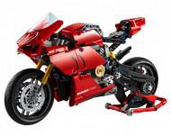Set 42107-GB Ducati Panigale V4R gebruikt deels gebouwd *B036