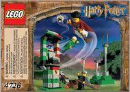 Set 4726 BOUWBESCHRIJVING Harry Potter- Zwerfbal oefenimg Harry Potter gebruikt loc