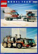 Set 5590 BOUWBESCHRIJVING- Whirl an Wheel super truck  gebruikt loc