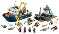 set 60095-G - Town: Deep Sea Exploration Vessel- gebruikt