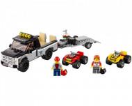Set 60148-GB ATV Race Team gebruikt deels gebouwd *B036