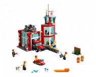 Set 60215-GB Fire Station gebruikt deels gebouwd *B036
