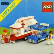 Set 6590 BOUWBESCHRIJVING- Vacation Camper gebruikt loc LOC M3