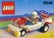 Set 6646 BOUWBESCHRIJVING- Sceaming Patriot gebruikt loc LOC M3