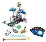 Set 70011 - Legends of Chima: Eagles' Castle zonder doos- gebruikt