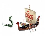 Set 7018 Viking Ship challenges the Midgard Serpent NIEUW