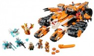 Set 70224 - Legends of Chima: Tiger's Mobile Command zonder doos- gebruikt