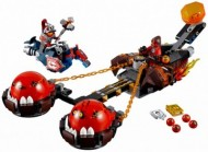 Set 70314-G - Nexo knights: Beast Master's Chaos Chariot geen doos I/97%- gebruikt