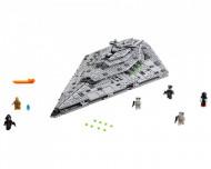 Set 75190-GB First Order Star Destroyer gebruikt deels gebouwd *B036