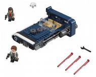 Set 75209-GB Han Solo's Landspeeder gebruikt deels gebouwd *B036