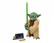 Set 75255-GB Yoda gebruikt deels gebouwd *B036