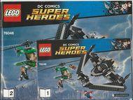 Set 76046 BOUWBESCHRIJVING-  Heroes of Justice  NIEUW loc