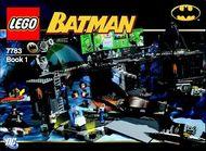 Set 7783 BOUWBESCHRIJVING-  Batman: Hunt for the Killer Croc Batman gebruikt loc