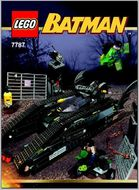 Set 7787 BOUWBESCHRIJVING-  Bat-tank Batman gebruikt loc