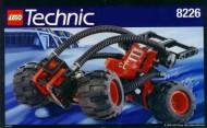 Set 8226 BOUWBESCHRIJVING- M<ud Masher Technic gebruikt loc loc box1