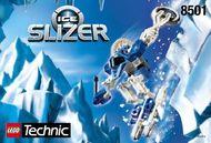 Set 8501 BOUWBESCHRIJVING- Ice Slizer Ruimtevaart gebruikt loc