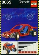 Set 8865 BOUWBESCHRIJVING- Test Car gebruikt loc