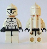 sw233 Star Wars:Clone Jet Trooper (Clone Wars) NIEUW loc